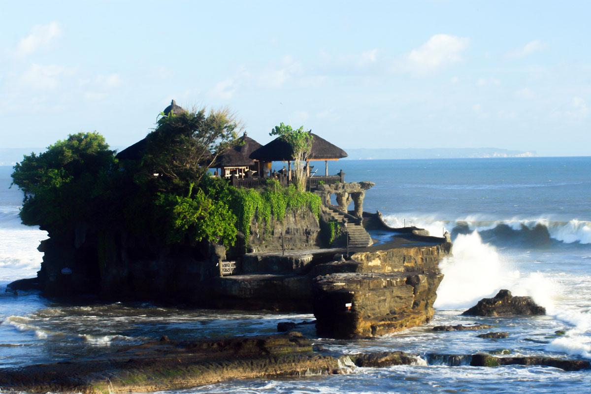 Bali Reisetipps: Pura Tanah Lot Meerestempel