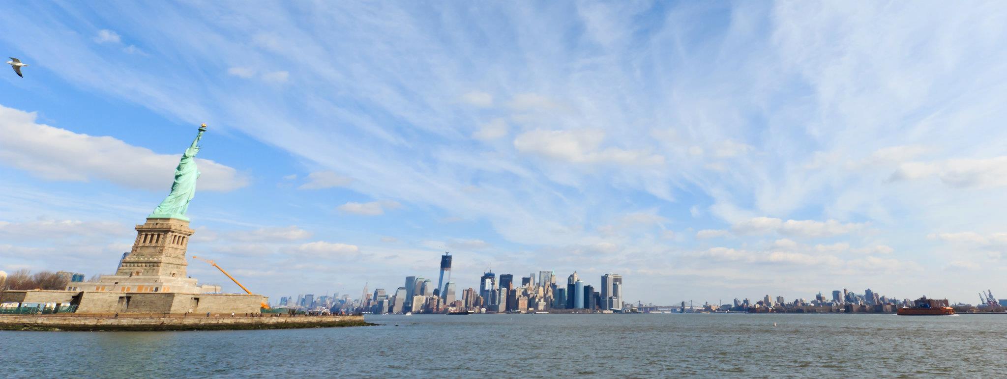 Sehenswürdigkeiten New York: Freiheitsstatue (Statue of Liberty)