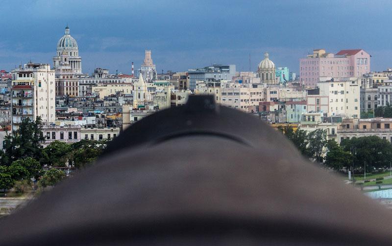 Blick auf Havanna