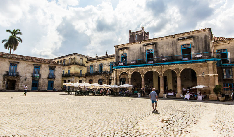 Plaza de la Catedral in Havanna