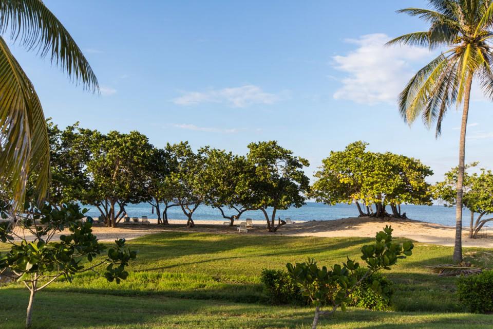 Blick zum Meer Jibacoa