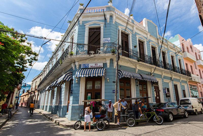 Mit dem Bici-Taxi auf Stadtführung durch Camagüey