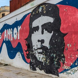 Che Guevara Street Art Havanna
