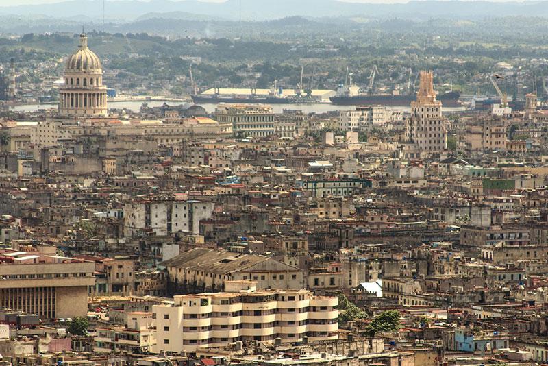 Havanna von oben Zerfall