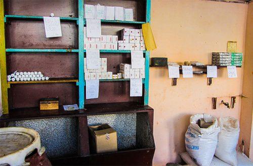 Lebensmittelladen in Kuba