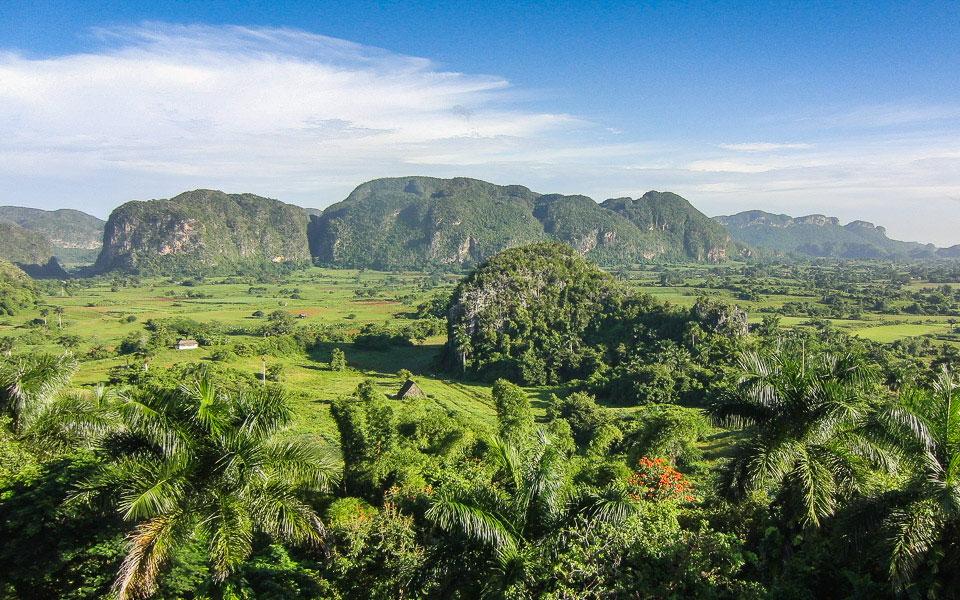 Aussichtspunkt im Valle de Vinales in Kuba