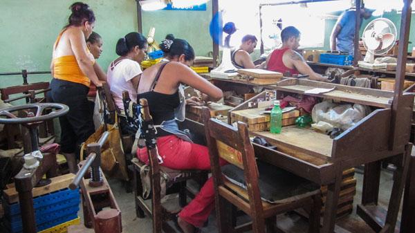 Zigarrenfabrik in Pinar del Rio /Vinales, Kuba