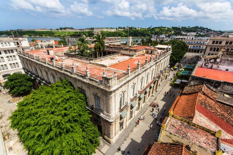 Ausblick von der Hemingway Bar in Havanna
