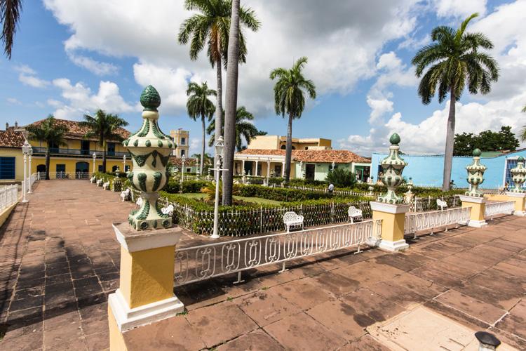 Plaza Mayor - einer der schönsten Plätze Kubas