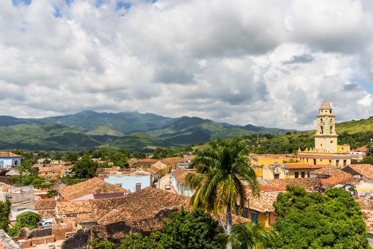 Blick über Trinidad