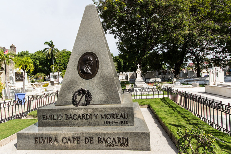 Santiago de Cuba Bacardi Friedhof