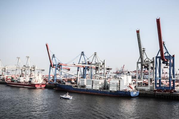 HafenCity und der Hafen