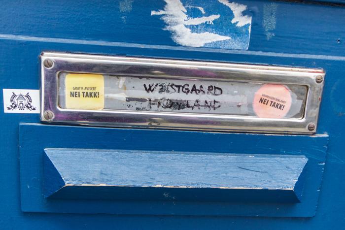 Briefkasten in Bergen