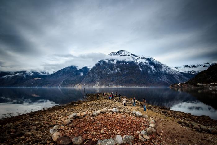 Eidfjord tolles Norwegen