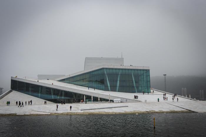 Berühmt in Oslo: Die Oper