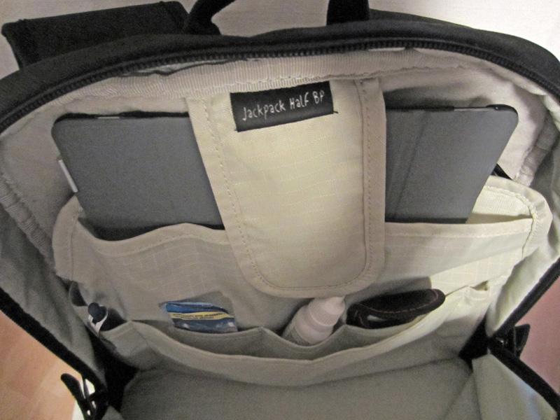 Fotorucksack Daypack Innenfach des Rucksacks mit iPad Fach