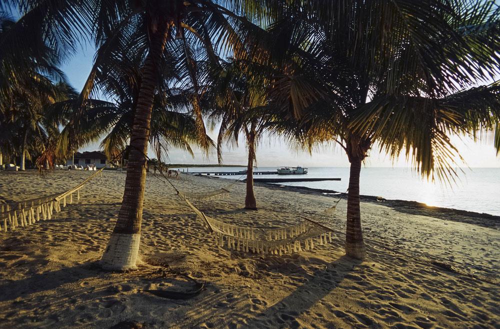 Beliebt bei Tauchern: Der Strand in Maria La Gorda