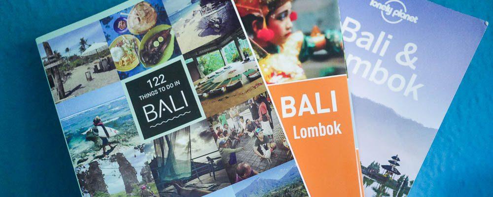 Meine Empfehlung für die besten Reiseführer für Bali und Lombok
