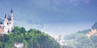 Schloss Neuschwanstein vom Tegelberg
