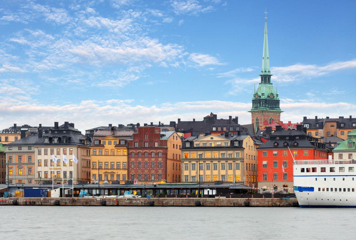 Stockholm Sehenswürdigkeiten: Blick auf Gamla Stan Stockholm