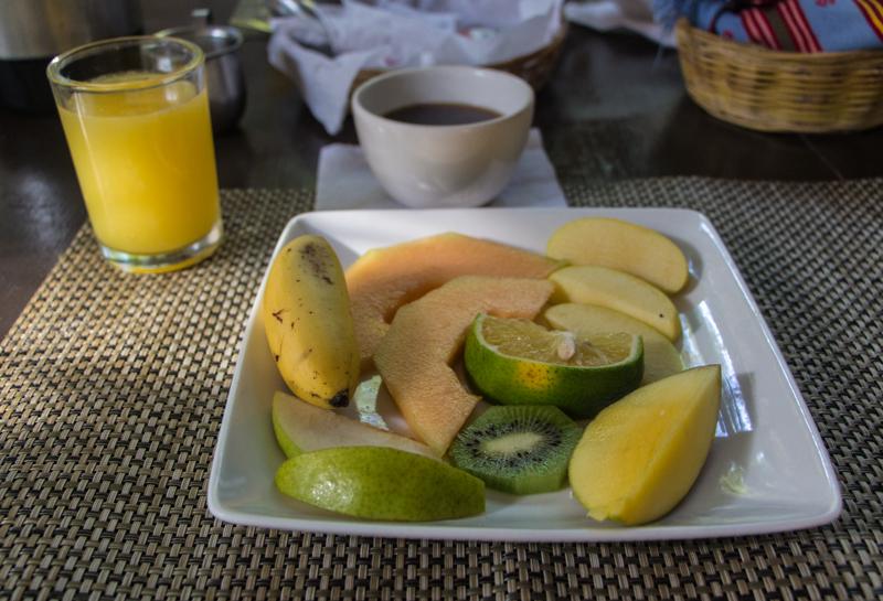 Frühstück in Tulum Posada Lamar