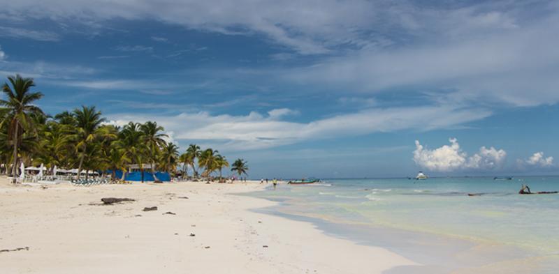 Tulum Karibikstrand in Yucatan
