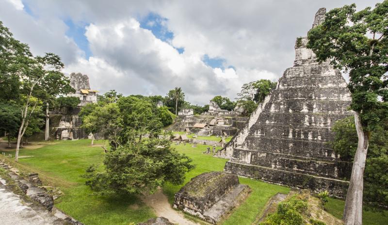 maya ruinen tikal
