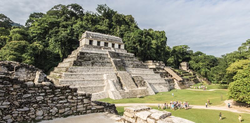 Mexiko Sehenswürdigkeiten Palenque Maya Ruinen