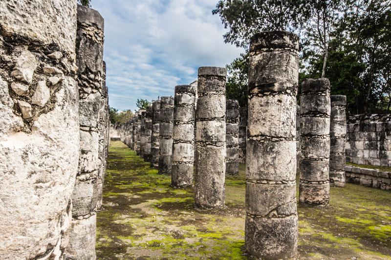 """An einem Tag: Chichen Itza, Cenote """"Ik Kil"""" - Valladolid - Cobá und Cenotes 12"""