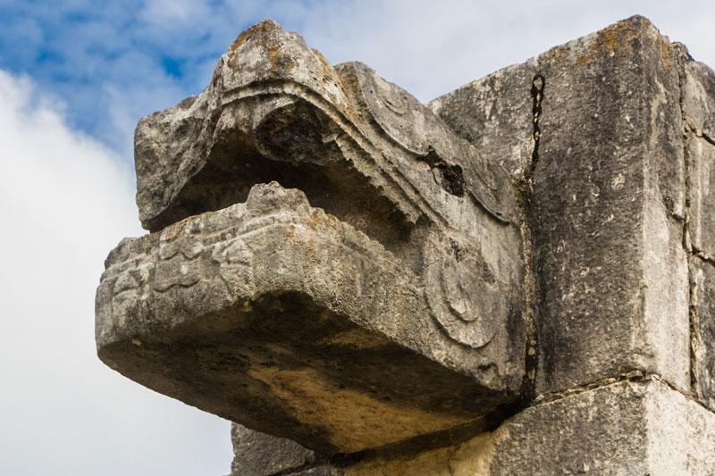 """An einem Tag: Chichen Itza, Cenote """"Ik Kil"""" - Valladolid - Cobá und Cenotes 9"""