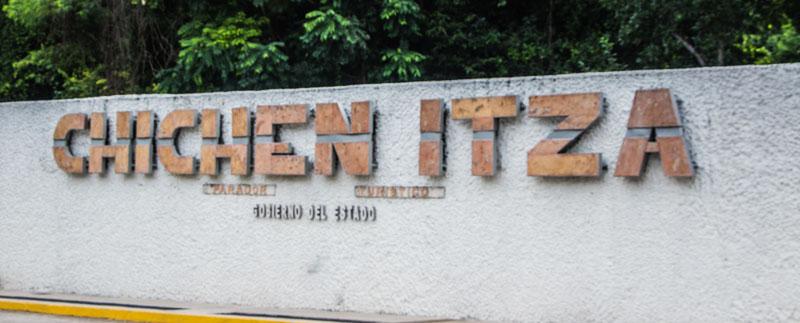 Chichen Itza TIpps Eingang