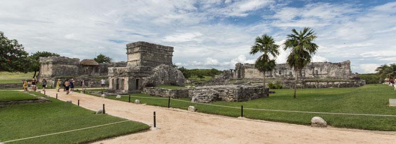 Mexiko Tulum: Maya-Ruinen am Karibikstrand