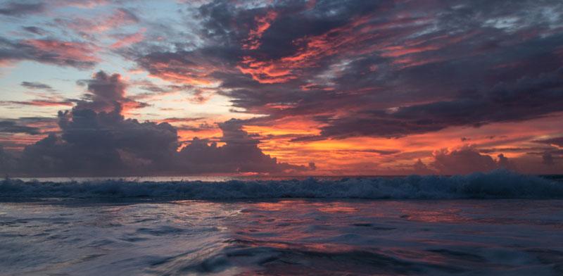 Mexiko Sonnenaufgang in Tulum
