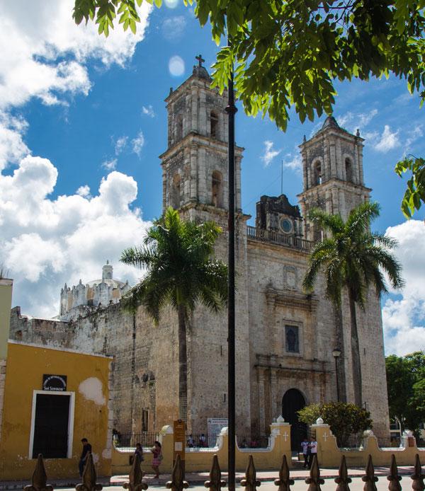 Valladolid Mexiko Kirche