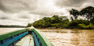 Mit dem Boot von Guatemala nach MExiko