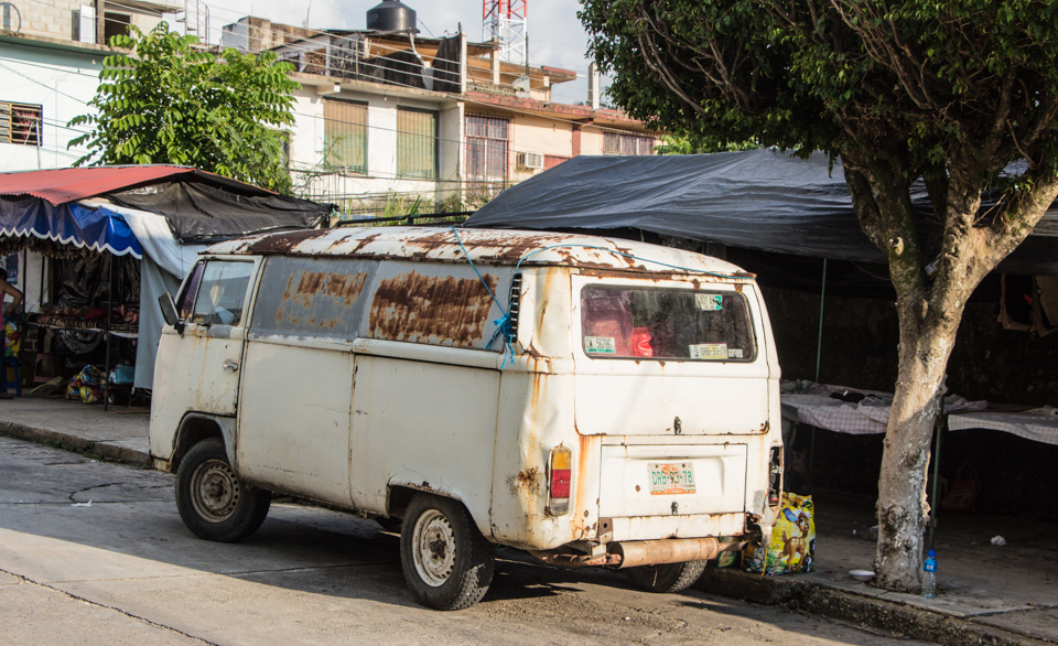 Palenque - alter VW Bus
