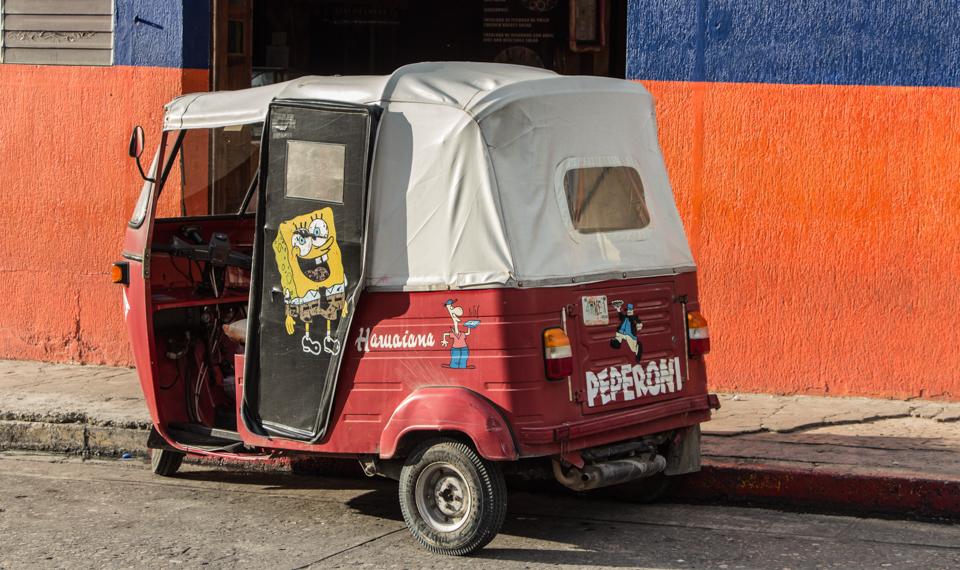 Spongebob in Palenque