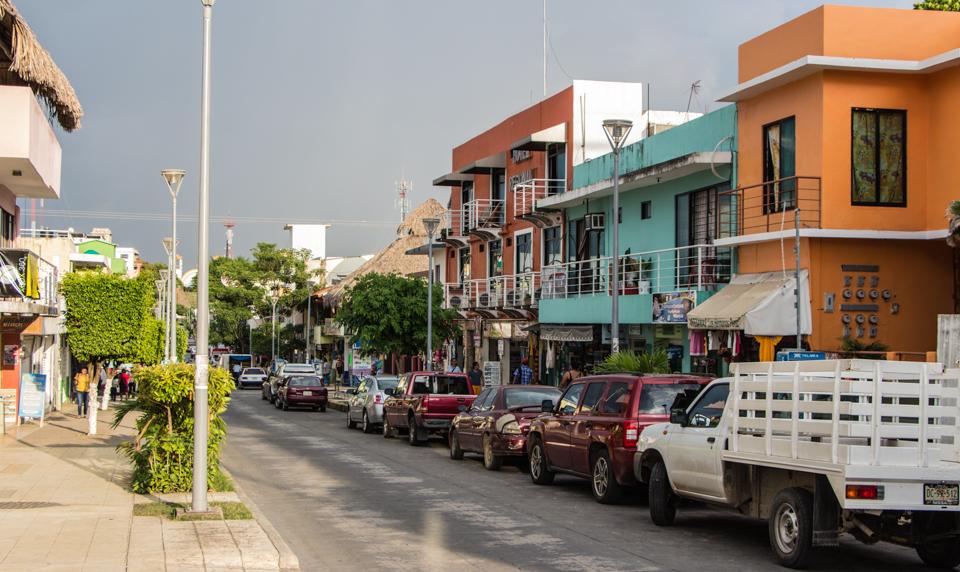 Hauptstrasse von Palenque