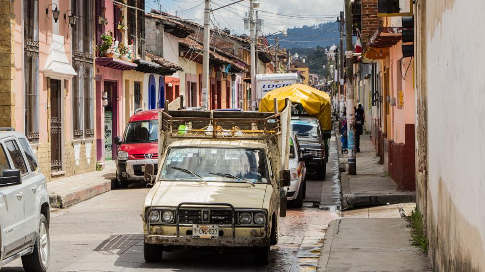 San Cristobal de las Casas Mexiko Autos