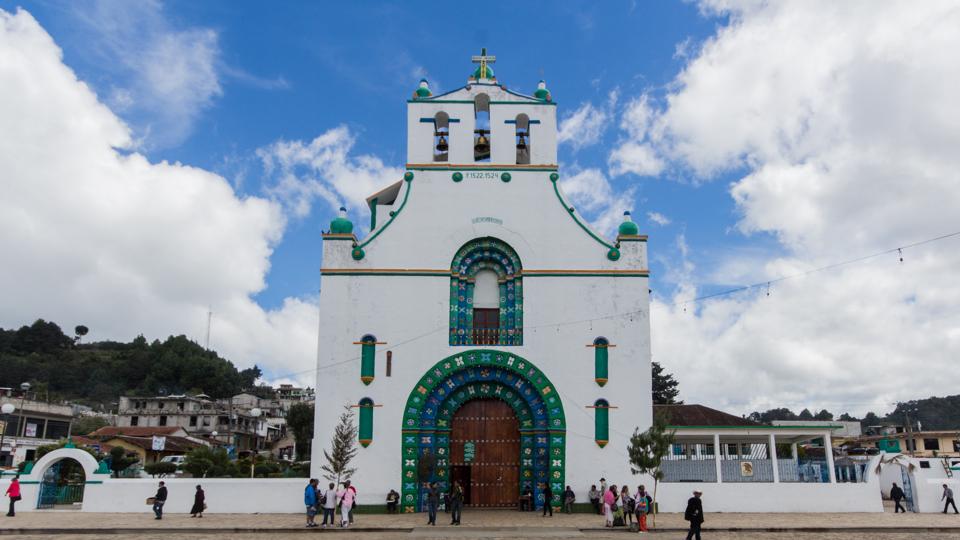 Mexiko Sehenswürdigkeiten: Templo de San Juan Chamula