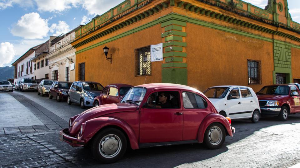 Ein Käfer in den Straßen von San Cristobal
