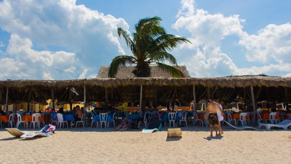 Unser Platz im Schatten Puerto Progreso