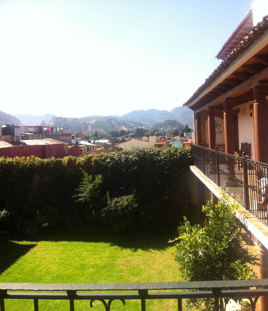 Ausblick Parador Margarita in San Cristobal