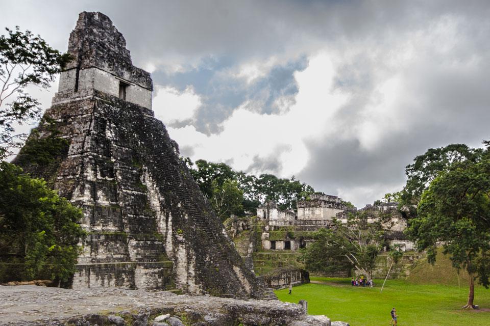 Tikal Guatemala Tempel des großen Jaguars
