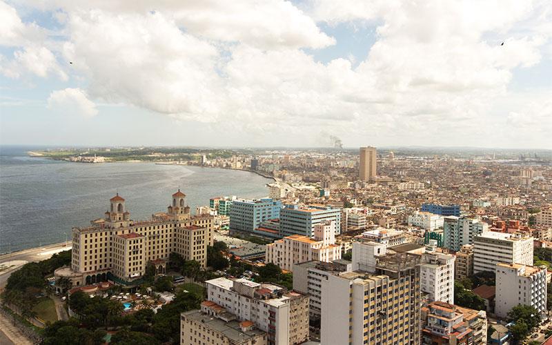 Kuba Reisebericht   Havanna von oben