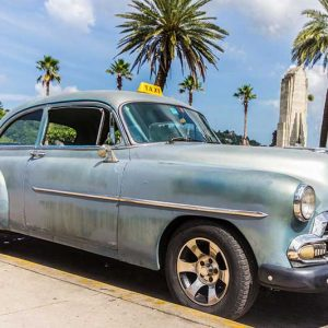 Sehr beliebt: Oldtimer Taxi