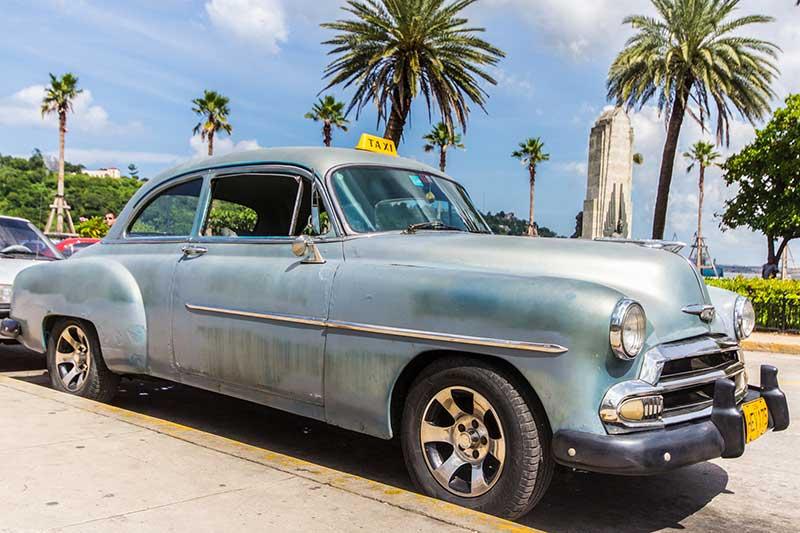 Kuba Reisebericht | Sehr beliebt: Oldtimer Taxi
