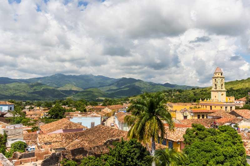 Kuba Reisebericht   Trinidad von oben