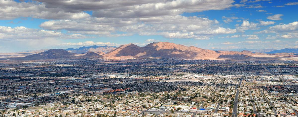 Sehenswürdigkeiten in Las Vegas Panorama Stratosphere Turm