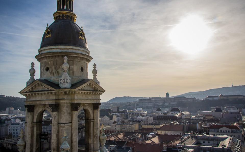 Sehenswürdigkeiten Budapest Tipps Basilika von oben
